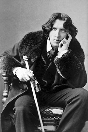 Oscar Wilde, author of The Picture of Dorian Gray