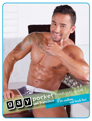 Gay Pocket Guide Cover Model
