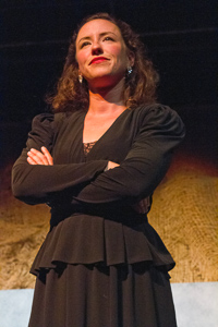 Pictured: Maryssa Wanlass as Diane in To Sleep and Dream by John Fisher; A Theatre Rhinoceros production at Z Below; Photo by Kent Taylor.