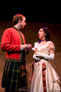 William J. Brown III as Mac and Ann Lawler as Chrisitna in Fighting Mac! by John Fisher; a Theatre Rhinoceros production at Thick House; Photo by Kent Taylor.
