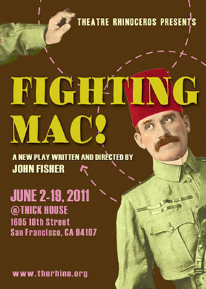 Fighting Mac! Poster