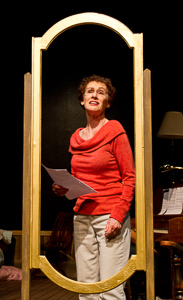 Pictured left to right: Tamar Cohn as Kay in The Habit of Art by Alan Bennett; directed by John Fisher;