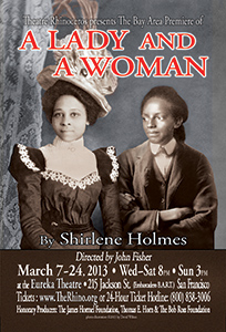 A Lady and a Woman poster by David Wilson