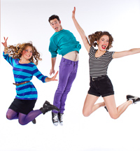 Pictured left to right: Asali Echols as Cynthia, Zachary Isen as Jerry, and Alexandra Izdebski as Anis in Slugs and Kicks by John Fisher. A Theatre Rhinoceros production at Thick House. Photo by Kent Taylor.