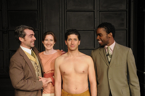 Left to Right: Kevin Clarke, Jeanette Harrison, Michael Vega, George Detroit Dunwood